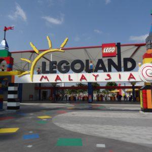 Legoland Johor Bharu Entrance, Malaysia