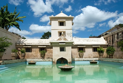 Taman Sari Water Castle in Yogyakarta,Indonesia