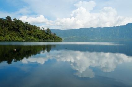 Lake Maninjau (Danau Maninjau) is a caldera lake in West Sumatra, Indonesia.